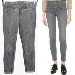 Madewell Grey Skinny Skinny Ankle Jeans Sz 31